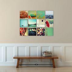 photography // nautical decor // art set // - set of twelve canvas art prints