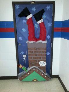 School door decorating Christmas Classroom Door, Office Christmas, Christmas Time, Christmas Crafts, School Door Decorations, Christmas Door Decorations, Decoration Creche, Christmas Door Decorating Contest, School Doors