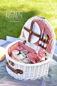 This summer pack a party to go! Family outings can be Picnic Perfect - with these great picnic ideas, recipes and tips!