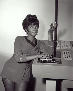 """""""Uhura"""" comes from the Swahili word uhuru, meaning """"freedom"""". Nichelle Nichols states in her book """"Beyond Uhura"""" that the name was inspired by her having had with her a copy of Robert Ruark's book """"Uhuru"""" on the day she read for the part.  #StarTrek #TOS #TheOriginalSeries #Uhura #Freedom #Uhuru #Swahili"""