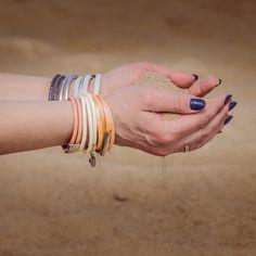 Bransoletki ze skóry naturalnej i stali szlachetnej z magnetycznym zapięciem. #fuerza #stylizacja #collection #kolekcja #fashion #stylization #woman #kobieta #beautiful #look #bransoletki #bransoletka #bracelets #bracelet #jewelry