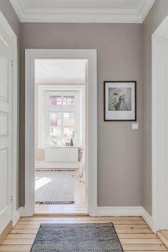Swedish Interiors, Interior Architecture, Interior Design, Hallway Designs, Dream Apartment, Living Room Inspiration, Home And Living, Diy Bedroom Decor, Sweet Home