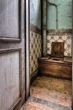 Old water-closet......both grandparents had these