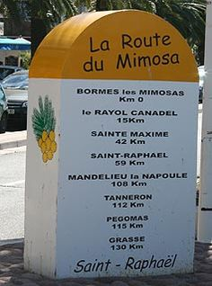 LA ROUTE DU MIMOSA - The Mimosa route is at its best from late January to early March, with mid-February the most popular time with visitors and the time when the towns have special events related to the route.