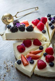 Harvest Moon Mascarpone Cheesecake – Ein Kuchenrezept ganz ohne Backen