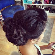 Professional Hair and Makeup Stylists with experience in Fashion, Film, Photography, and Weddings; Serving you and your wedding party on-location Hairdos, Updos, Wedding Hair And Makeup, Hair Makeup, Messy Updo, Asian Hair, Professional Hairstyles, Wedding Hairstyles, Stylists