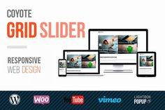 Coyote Grid Slider by Coyote WP on @creativemarket