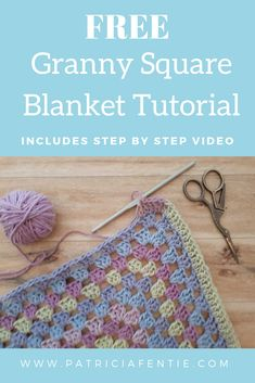 Most current Absolutely Free big granny square Popular Join me for this easy and fun crochet project that is suited for the novice crocheter. The blanket Crochet Baby Blanket Free Pattern, Crochet Granny, Easy Crochet, Crochet Patterns, Crochet Ripple, Crochet Afghans, Crochet Stitches, Granny Square Blanket, Big Granny