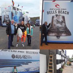 #bellsbeach #ripcurlpro #worldchampion #wsl #ripcurlpro2016 #bellsbeachripcurlpro2016 #wslchampion L'étape des championnats du monde de surf à Bells beach  Papa et moi avons eu la chance de rencontrer la championne du monde en titre  by nuagequipassequivoyage http://ift.tt/1KnoFsa