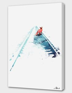"""""""From nowhere to nowhere"""", Numbered Edition Canvas Print by Robert Farkas - From $69.00 - Curioos"""