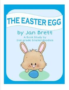 Literacy packets for Easter picture books Easter Activities, Book Activities, Sequencing Activities, Educational Activities, Easter Books, Easter Eggs, Jan Brett, Readers Theater, Author Studies