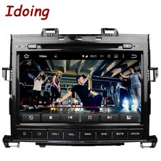 Idoing 2 Din Android 5.1Car Multimedia DVD Player For Toyota Alphard 9Inch ROM 16G 1024*600 Quad Core Steering-Wheel TV 3G Radio #Affiliate