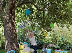 20 super idées pour un coin jardin réservé aux enfants