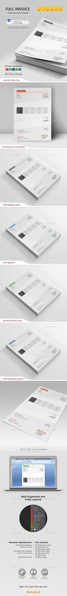 invoice template stationery templates proposal templates ai illustrator proposals visit cards annual reports brochures booklet
