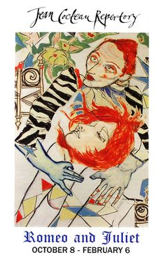 Art work for Jean Cocteau Repertory  2004