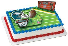 Nfl Philadelphia Eagles Cake Decorating Kit