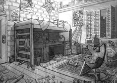 art students room - Google Search