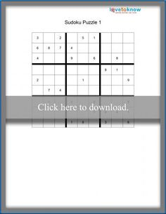 Printable Logic Puzzles for Kids Sudoku Puzzles, Logic Puzzles, Puzzles For Kids, Printable, Brain Teasers For Kids, Kids Puzzles