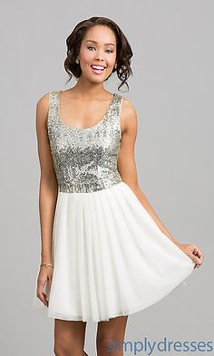 sparkles cover the top, but it flows nicely into a crisp mid thigh sea