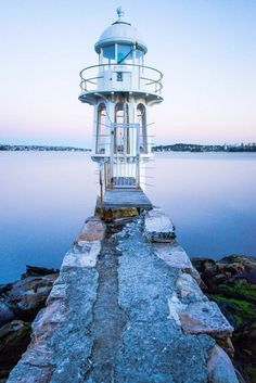 A 'gazebo' lighthouse! Great for spring and summer. Not for rain. ;)