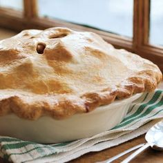 Apple Pie Recipe - We used Macintosh apples, added 1/2 tsp nutmeg, didn't use any lemon juice and it came out juicy and delicious!