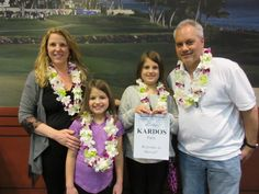 The Kardos family was a joy to greet says Raychel!  For Mr. and Mrs. Kardos, it's their 2nd trip to Hawaii (they were married in Maui!).  As for their two daughters, it is their very first trip to Hawaii!  Have a great first family trip to our beautiful islands!  We know you'll have an awesome time here! #lethawaiihappen #leigreeting #hawaii #honolulu