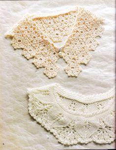 lace collars - pattern whole range of pattern books