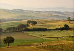 Toskana-Panorama:  Fattoria San Lorenzo, Grosseto, Italien   Escapio
