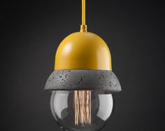 Maayan - Pendant Lightweight Concrete Lamp