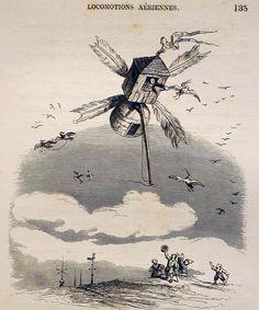 Sunday Fantasy #160: Jean Ignace Isidore Gérard (aka J. J. Grandville)    (from a flickr set of his book 'Un Autre Monde', found via Warren Ellis' Whitechapel forum. god bless the internet)