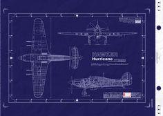 Warbird blueprints || RAF Hawker Hurricane