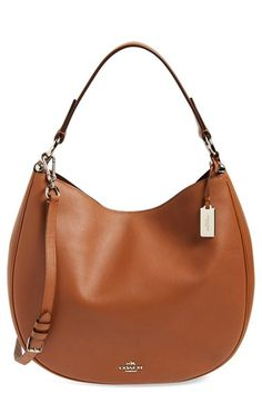 COACH 'Nomad' Hobo Bag available at #Nordstrom