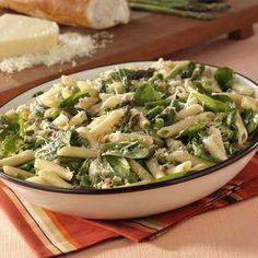 Asparagus-Spinach Pasta Salad Recipe