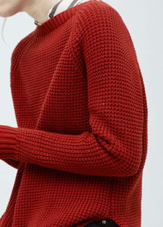 oversize cotton sweater | mango
