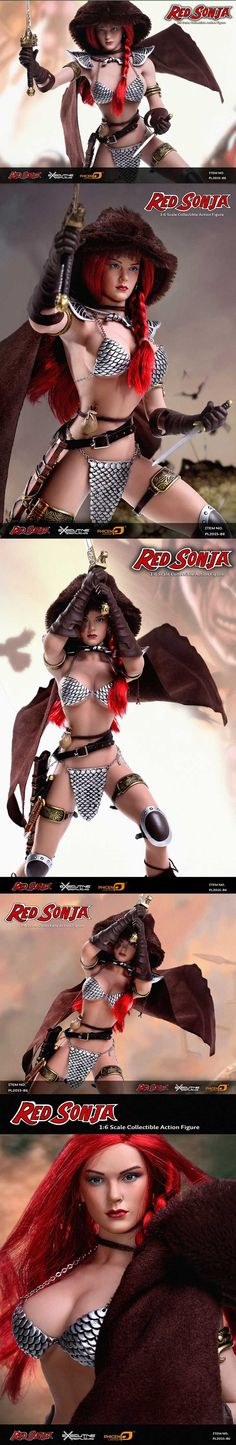 [PHICEN - 1/6th scale Red Sonja Action Figure (PL2015-86)]
