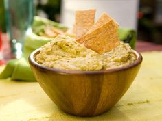 Spicy Crushed Hummus