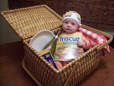 OMG a triscuit baby!!!!    Best costume ever