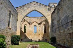 Chapelle, ancien monastère des Cordeliers, Saint-Emilion, Libournais, Gironde, Guyenne, Aquitaine, France.