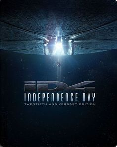 Independence Day [20th Anniversary Edition] [Blu-ray] [SteelBook] [1996] - Front_Standard