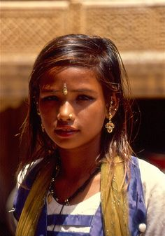India - stunning little girl