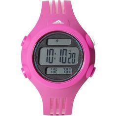 ADIDAS ADP6105 Pink Watch (1,165 PHP) ❤ liked on Polyvore featuring jewelry, watches, water resistant watches, pink wrist watch, pink jewelry, stainless steel jewellery and adidas watches