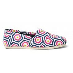 TOMS - Bright Geometric Jonathan Adler for Women's Classics