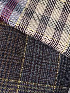 Shetland Tweed samples, Hoswick visitor centre, Shetland