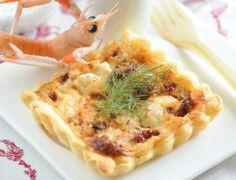 Tartelettes aux langoustines Voir la recette des Tartelettes aux langoustines