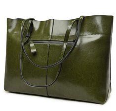 ea297bc4c7 Covelin Women's Handbag Genuine Leather Tote Shoulder Bags Soft Hot