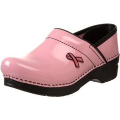 63de6f340969 Dansko s Professional Pink Ribbon clog is perfect for the woman who can t  be slowed down by discomfort in her job. The Pink Ribbon clog fits this  month ...