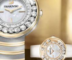 AMOR. Lovely Crystals White Rose Gold Tone Reloj desde #Swarovski