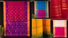 ✽ Original Uppada Pattu Silk Pure Handloom Sarees by Muralikrishnan ✽