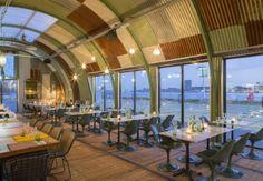 Restaurant Design, Restaurant Bar, Hotel Interiors, Amsterdam, Restaurants, Hotels, Barn, Magazine, Interior Design