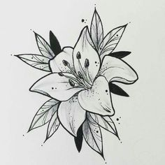 42 Simple and Easy Flower Drawings for Beginners – Cartoon District – Tattoo Sketches & Tattoo Drawings Easy Flower Drawings, Small Flower Tattoos, Flower Sketches, Flower Tattoo Designs, Easy Drawings, Small Tattoos, Drawing Flowers, Easy Tattoos, Tattoo Flowers
